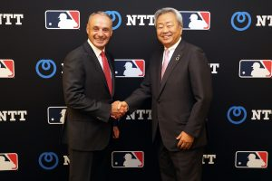 NTT partnering with MLB